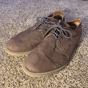 Topman Brown Suede Shoes size 10